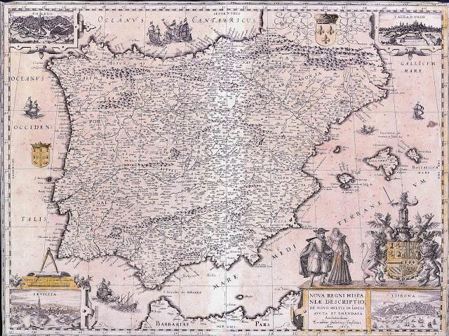 1670 mapa españa