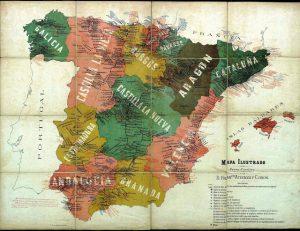 1910 mapa de ferrocarriles