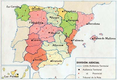 1972 división judicial granada