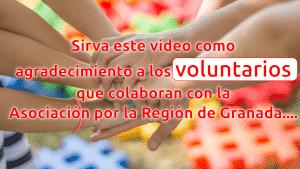 a los voluntarios