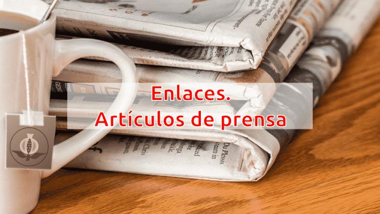blog enlaces de prensa