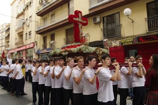 procesion infantil cruces jaen