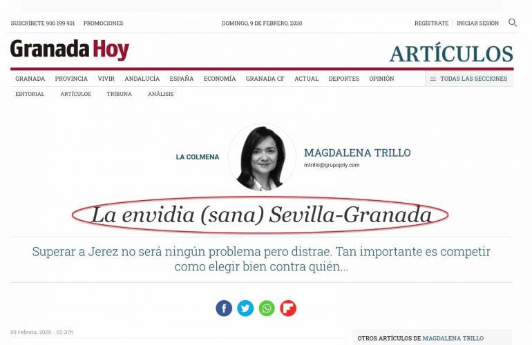 granada hoy magdalena trillo regionalismo